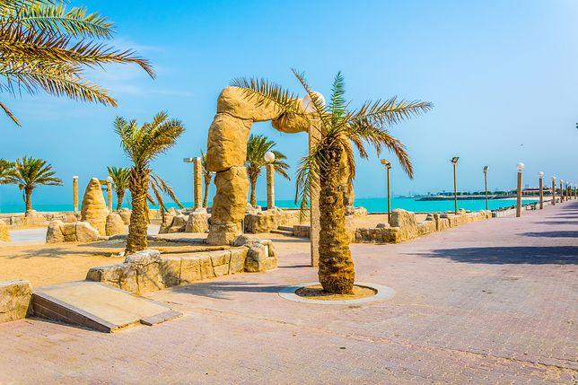 Kuwejt znajduje się na północno-zachodnim wybrzeżu Zatoki Perskiej
