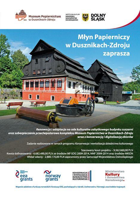 Sukces Muzeum Papiernictwa na miarę Europy