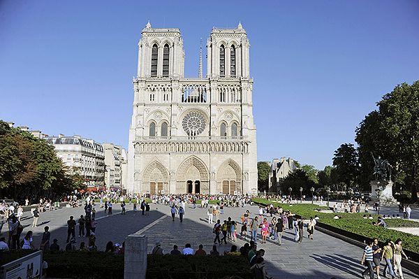 Mężczyzna zastrzelił się w Notre Dame; katedrę ewakuowano