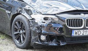 Wypadek rządowego samochodu z wiceministrem Obrony Narodowej Bartoszem Kownackim
