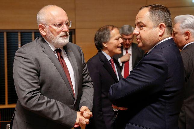 """Wysłuchanie Polski ws. reformy sądownictwa. Timmermans nie widzi """"woli dalszych zmian"""""""
