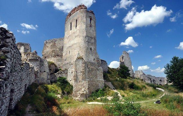 Tajemniczy zamek w Karpatach