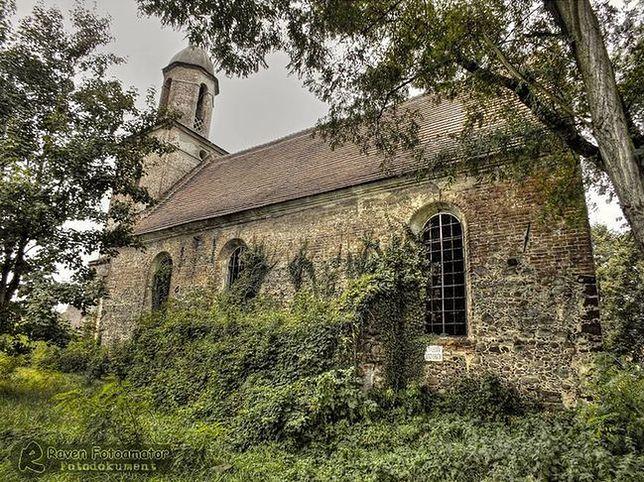 Kościół ewangelicki w Jeziorach Dolnych na Ziemi Lubuskiej