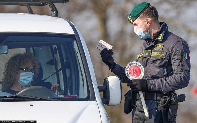 Koronawirus we Włoszech. W wielu miejscach wyjazdów pilnuje wojsko