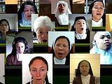 Wirtualny chór z klauzurowych klasztorów