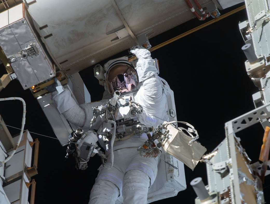 Astronauta na ISS