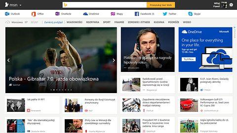 Nowa strona MSN to jeszcze lepsza integracja z usługami i aplikacjami Microsoftu