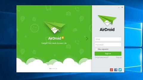 AirDroid staje się jeszcze wygodniejszy dzięki desktopowemu widgetowi