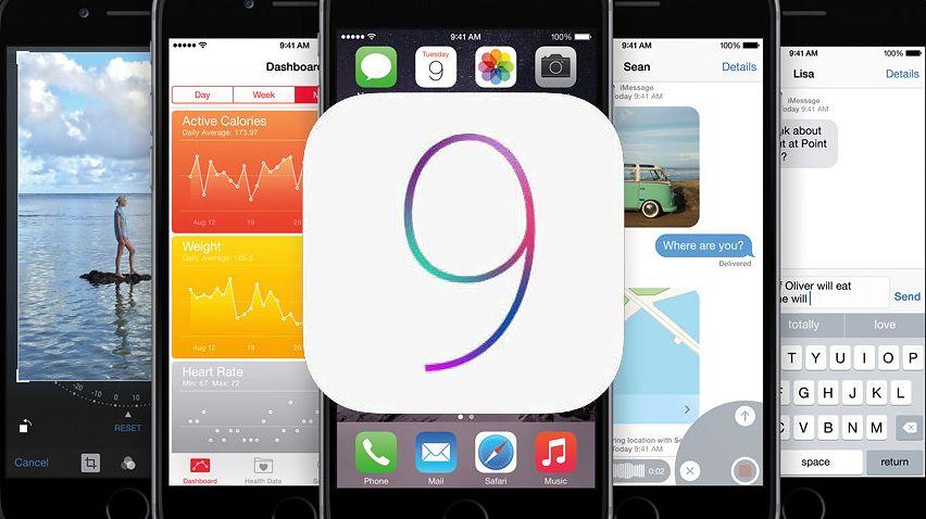 iOS 9 już na połowie urządzeń mobilnych z jabłkiem, a w Plusie nie da się z niego wysłać MMS-a