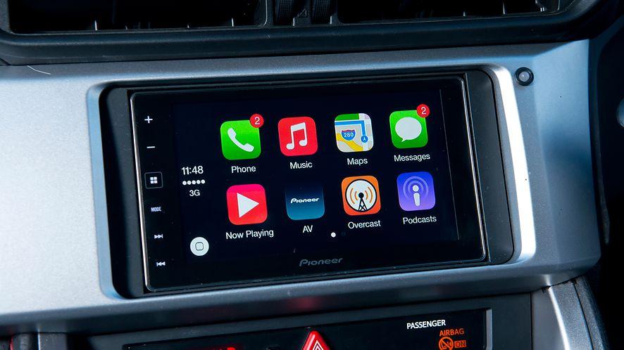 W Apple CarPlay ma się pojawić możliwość zmiany tapety w samochodzie, fot. Getty Images