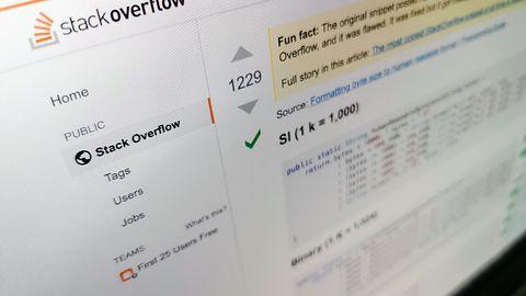 Kod z błędem ze StackOverflow był kopiowany do tysięcy programów