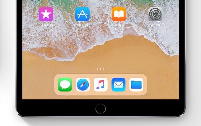 iOS 11 na iPadzie. Podobny dock z aplikacjami ma trafić do iPhone'a 8.