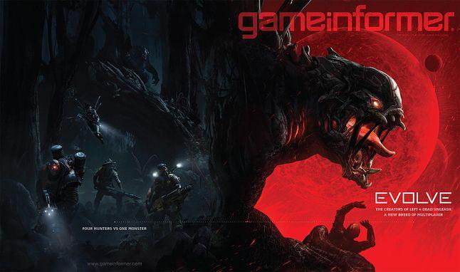 Evolve na okładce najnowszego wydania amerykańskiego magazynu Game Informer.