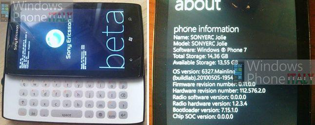 Prototyp Sony Ericsson Jolie