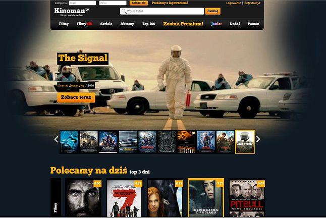 Kinoman.tv – gdy jeszcze działał