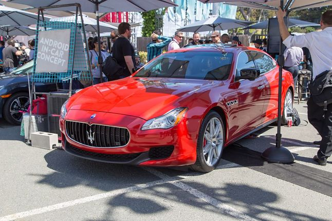 W 2016 roku Androida podziwialiśmy w Maserati Quattroporte, arstechnica.com
