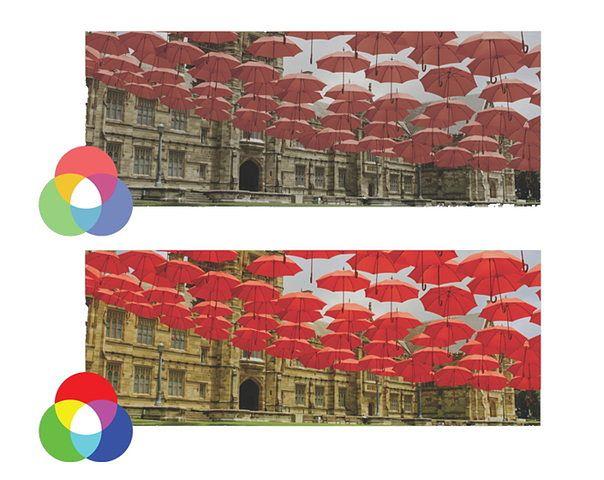 Ta sama treść wyświetlana na różnych ekranach może być prezentowana na wiele sposobów. Wszystko zależy od zakresu luminacji telewizora.