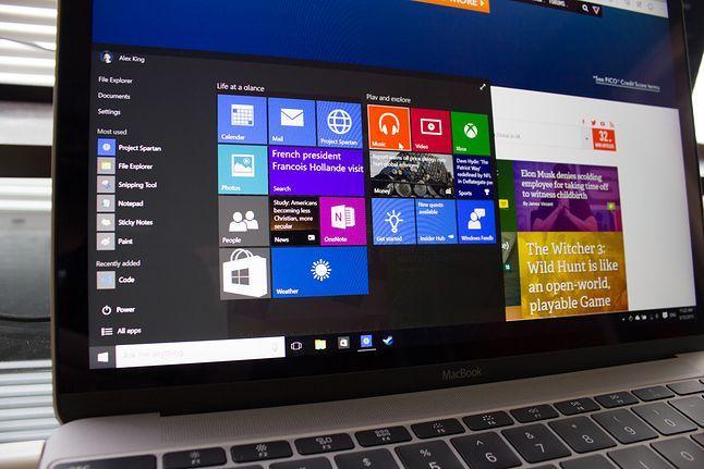 MacBook 2015 z Windows 10. Źródło: alexvking.com