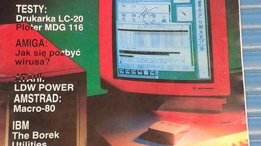 Sentymentalnie — Bajtek, magazyn komputerowy, numer 4 (62), 1991 - Zdjęcie 1