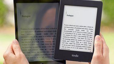 Podaruj regał, czyli przedświąteczny przegląd czytników książek - Jeden obraz zamiast 1000 słów: różnica między ekranem tabletu i czytnika w słoneczny dzień