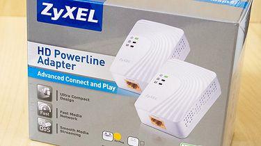 Dla druta nie ma alternatywy! O transferach danych i marketingowej papce, przy okazji testów adapterów powerline firmy ZyXEL - pudełko z przodu
