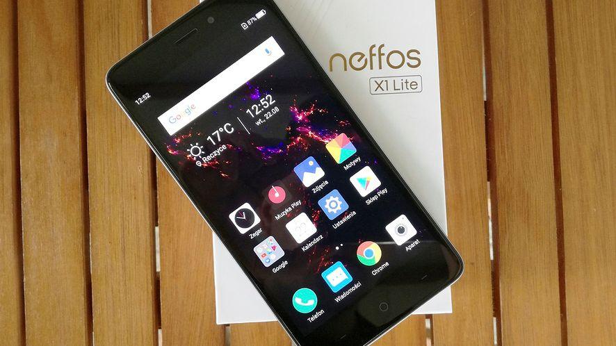 TP-Link Neffos X1 Lite – test wydajnego smartfonu za 500 zł