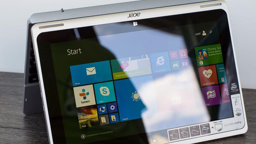 Acer Switch 10: test taniej hybrydy, którą ustawimy w nietypowych pozycjach