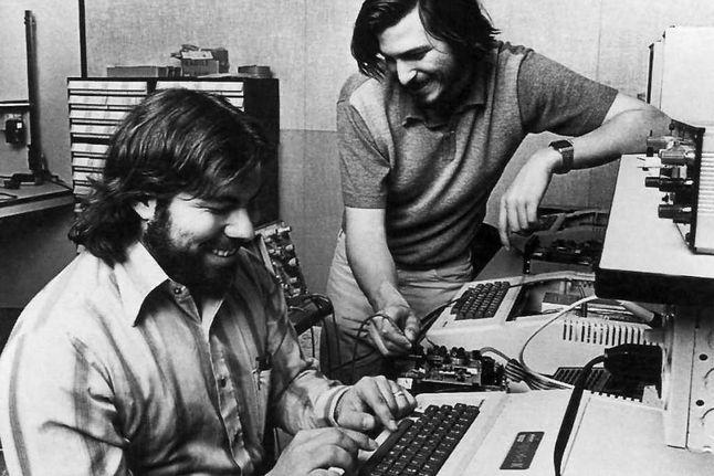 Wozniak i Jobs, 1976