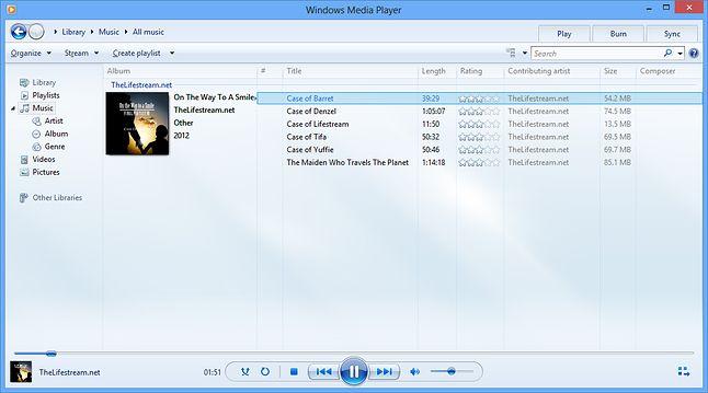 Windows Media Player: w erze Modern aplikacja nie dośćGroove (źródło: wikimedia)