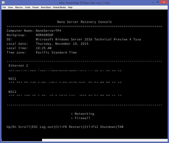 Przyjazny interfejs użytkownika NanoServera