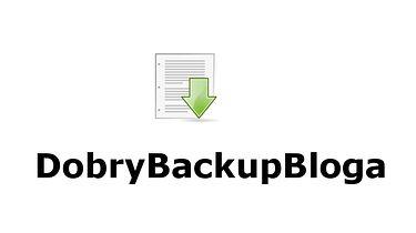 DobryBackupBloga —  aplikacja do szybkiej archiwizacji wpisów blogowych