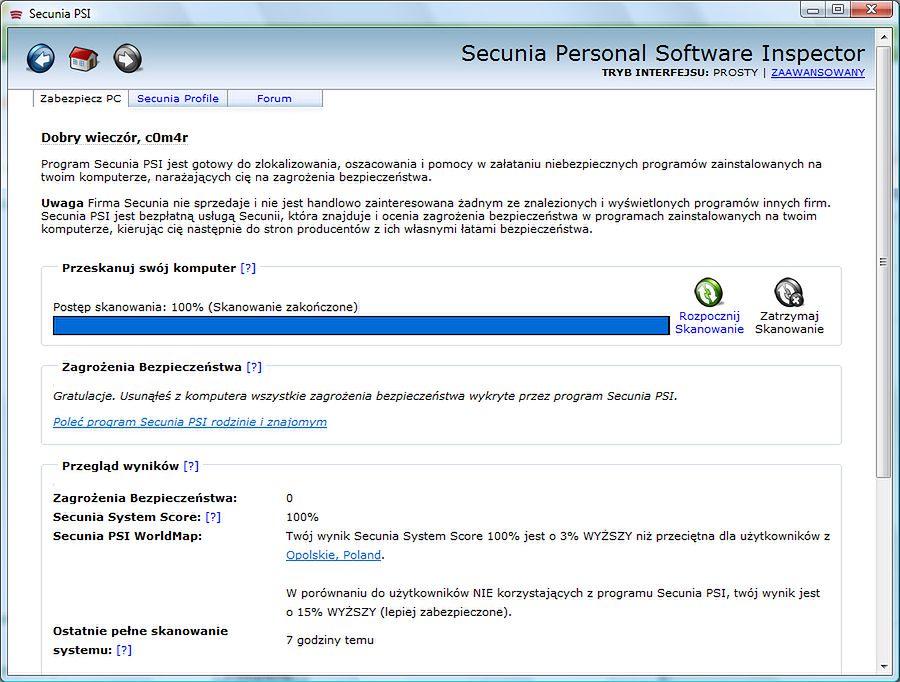 Aktualność oprogramowania - stay safe
