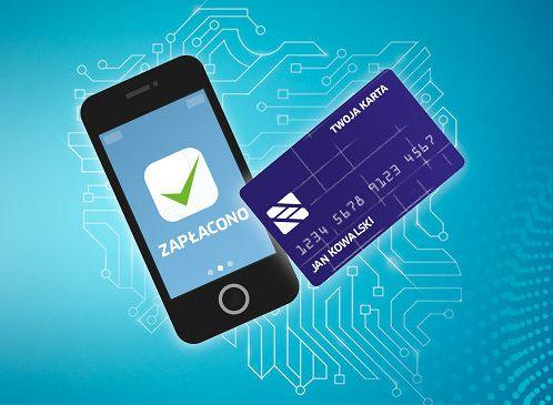 Źródło: www.kir.pl Grafika reklamująca wprowadzenie bezgotówkowych transakcji