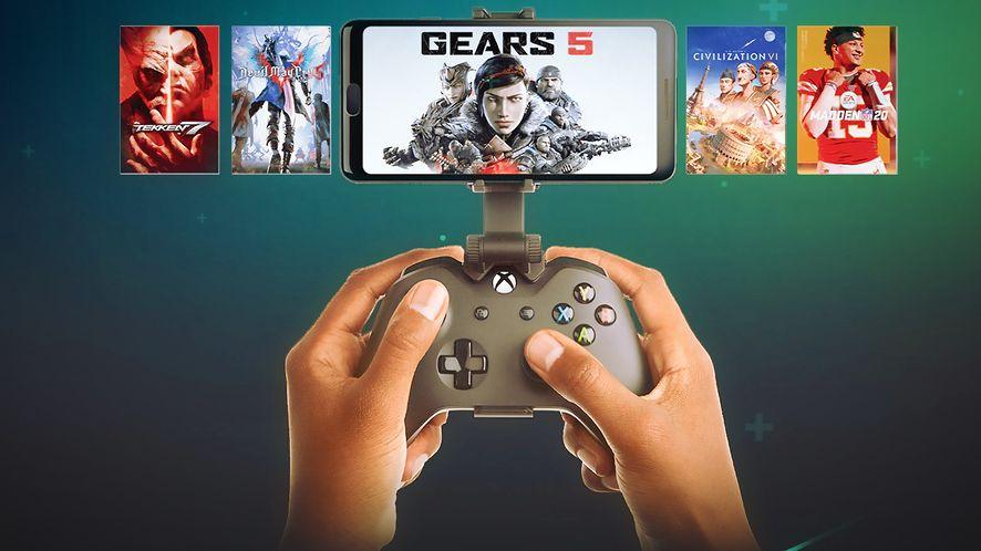 Project xCloud pozwoli grać w gry z Xboxa na smartfonie, fot. Microsoft