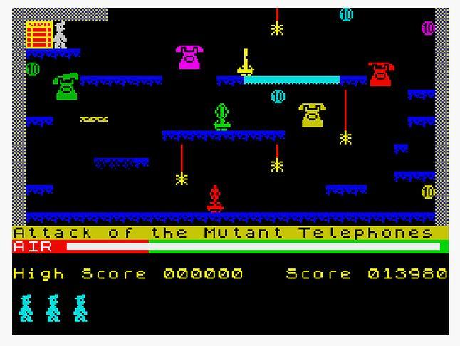 Atak telefonów mutantów!
