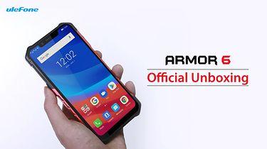 Ulefone publikuje unboxing Armor'a 6