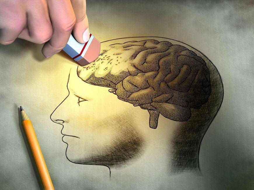 Kasowanie pamięci, jako mechanizm obronny organizmu