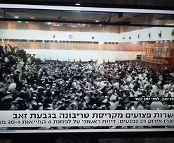 Katastrofa w synagodze. Tragiczny bilans i przerażające nagranie z Izraela