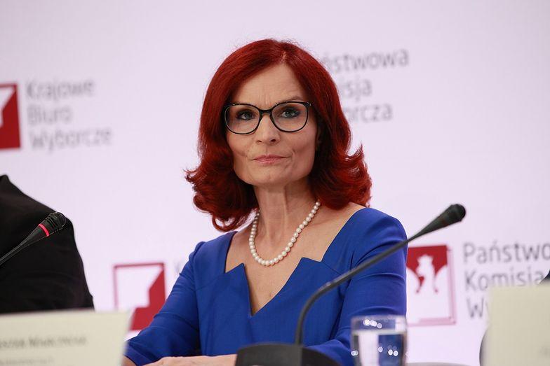 Wybory 2020. Szefowa Krajowego Biura Wyborczego Magdalena Pietrzak