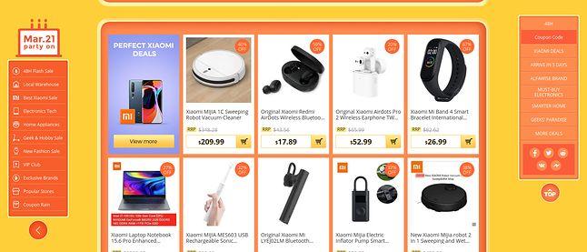 Lista ofert produktów Xiaomi już po obniżce