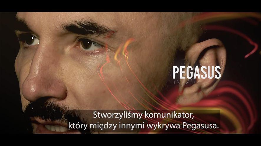 Patryk Vega w reklamie Usecrypt Messenger, fot. YouTube (Patryk Vega)