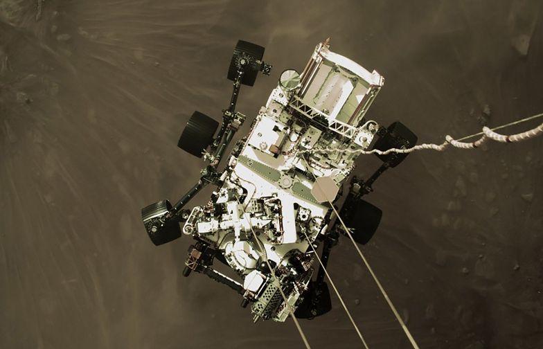 Tak łazik Perseverance wylądował na Marsie. NASA opublikowała wideo
