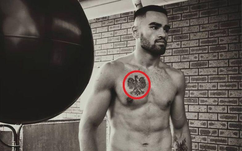 Tajemniczy tatuaż boksera z Samoa. Wiemy, skąd się wziął