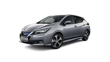Nissan Leaf 2021 – popularny samochód elektryczny Nissana wzbogacony o nowe technologie - fot. materiały prasowe