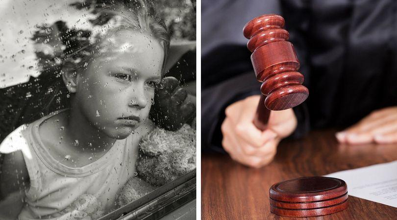 Dziecko odebrane rodzicom decyzją sądu