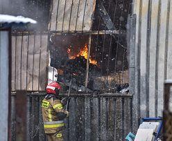 Gigantyczny pożar w Lublinie. Płonie hala ze sprzętem AGD