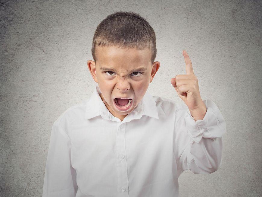 Atak złości dziecka