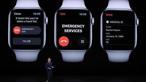 Apple Watch sam wzywa policję. Kłopoty z inteligentnym zegarkiem