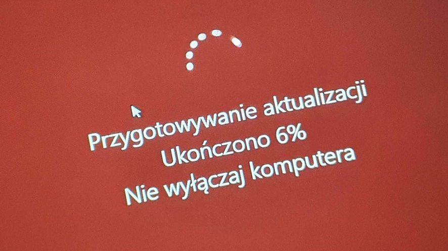 Windows 10 ma problem po aktualizacji