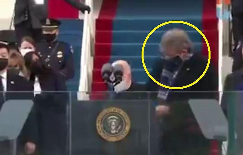 """Ten mężczyzna jest na ustach USA. Skradł """"show"""" na inauguracji Joe Bidena"""